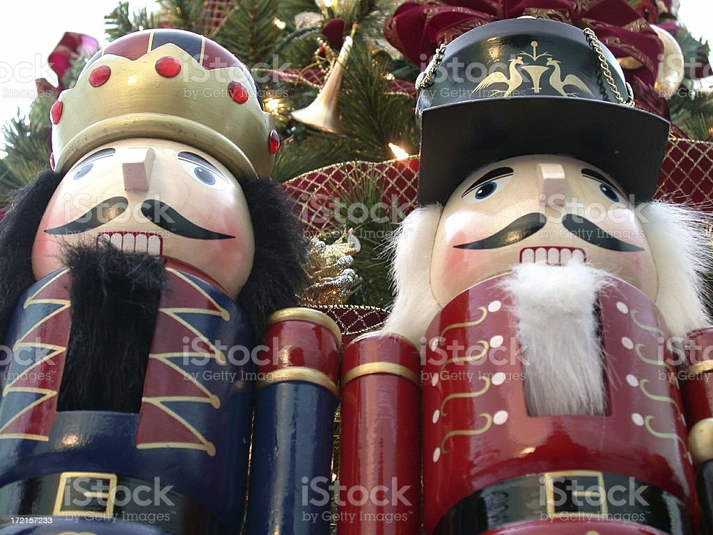 Large Toy Soldiers royalty-free stock photo