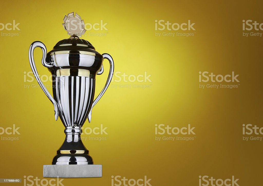 Large trophy royalty-free stock photo