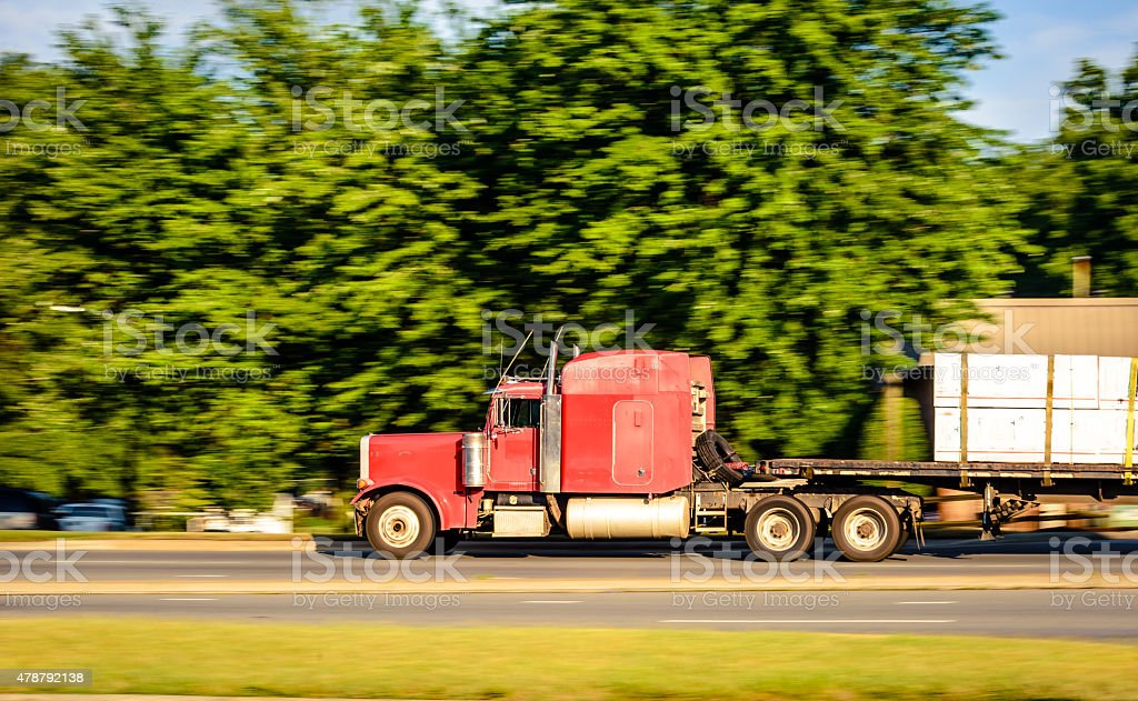 Large Truck stock photo