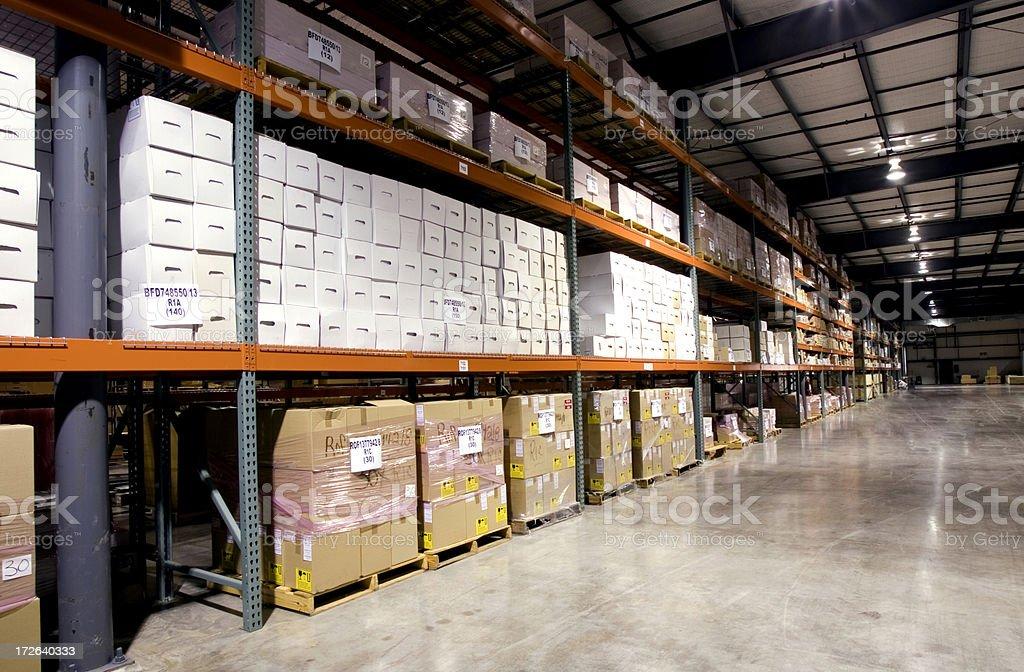 Large Warehouse royalty-free stock photo