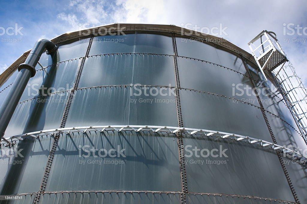 Large Water Tank stock photo