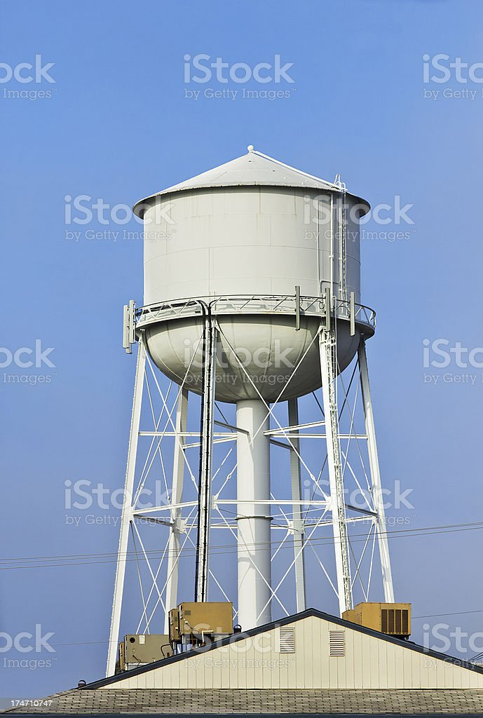 Large Water Tower stock photo