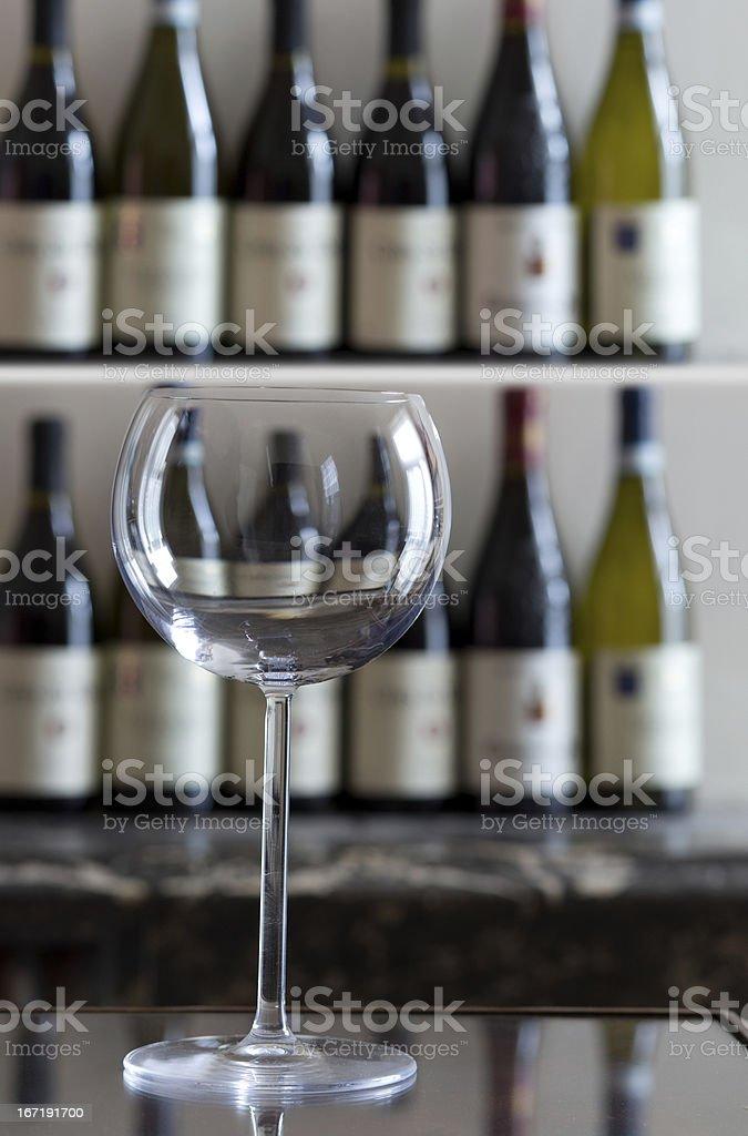 Large Wine glass royalty-free stock photo
