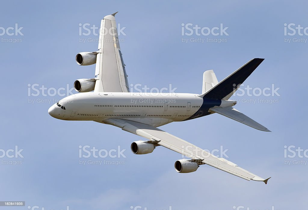 Largest Airliner stock photo