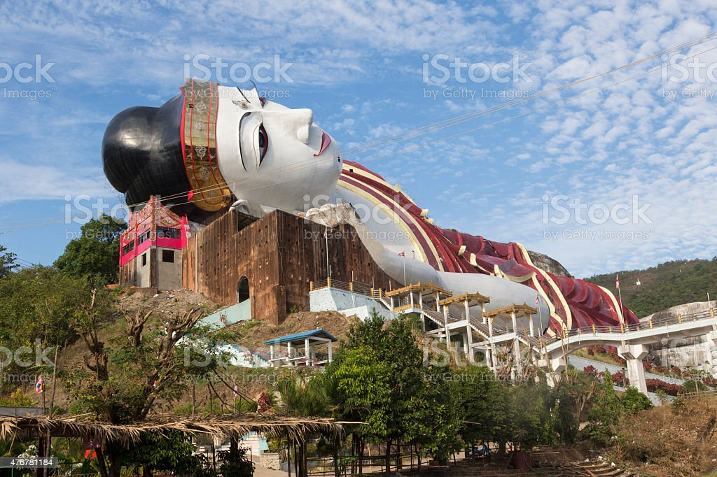 Largest reclining Buddha in the world Myanmar (Burma) royalty-free stock photo & Largest Reclining Buddha In The World Myanmar stock photo ... islam-shia.org
