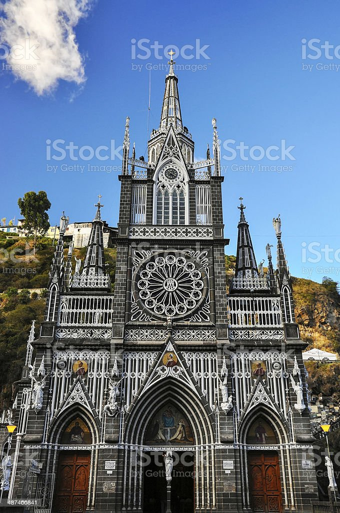 Las Lajas Front stock photo