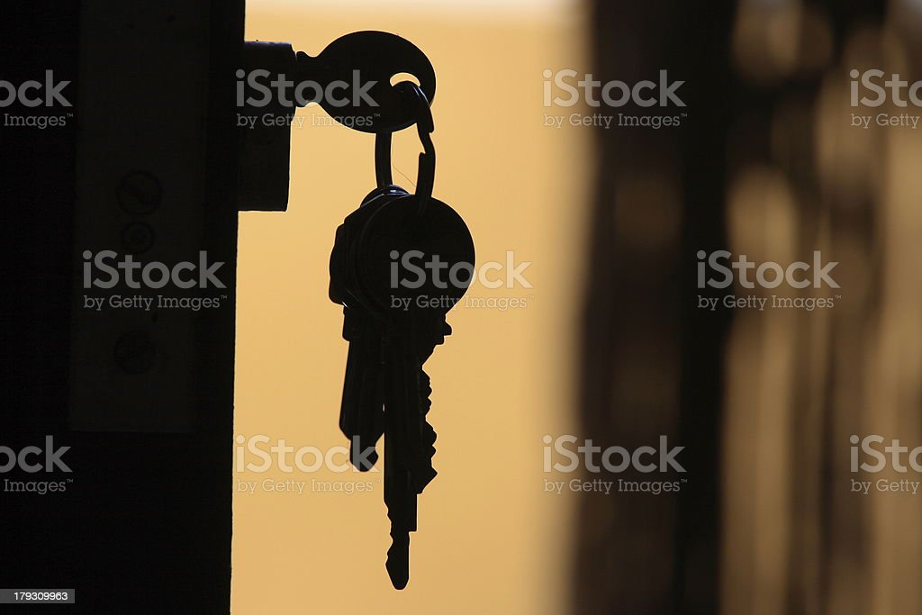 Las llaves de mis sue?os stock photo