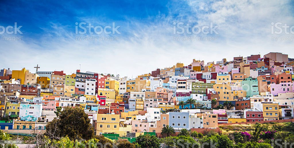 Las Palmas de Gran Canaria stock photo