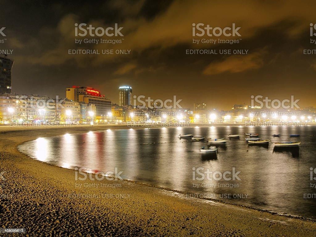 Las Palmas of Gran Canaria royalty-free stock photo