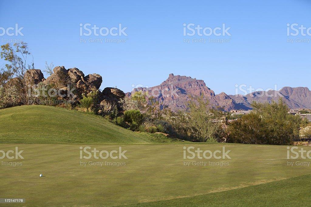 golf Club Las sendas foto stock royalty-free