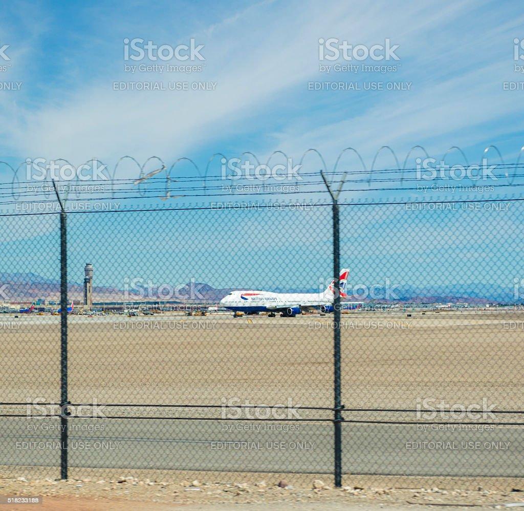 Las Vegas Airport stock photo