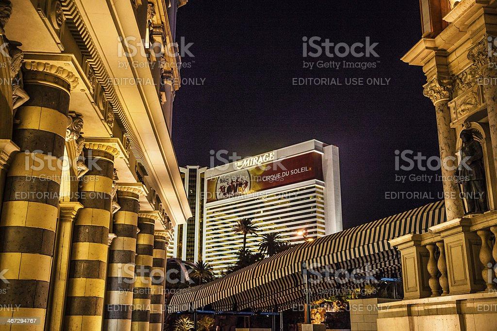 Las Vegas architecture stock photo