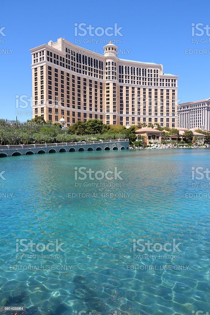 Las Vegas Bellagio stock photo