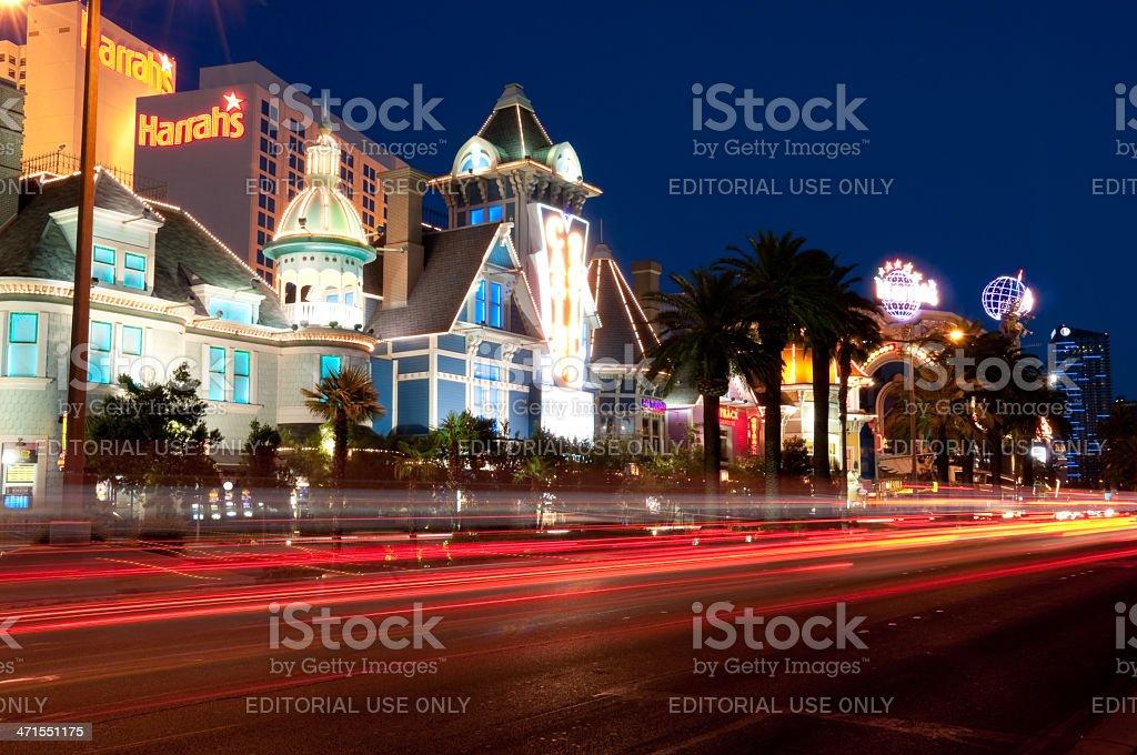 Las Vegas Boulevard stock photo
