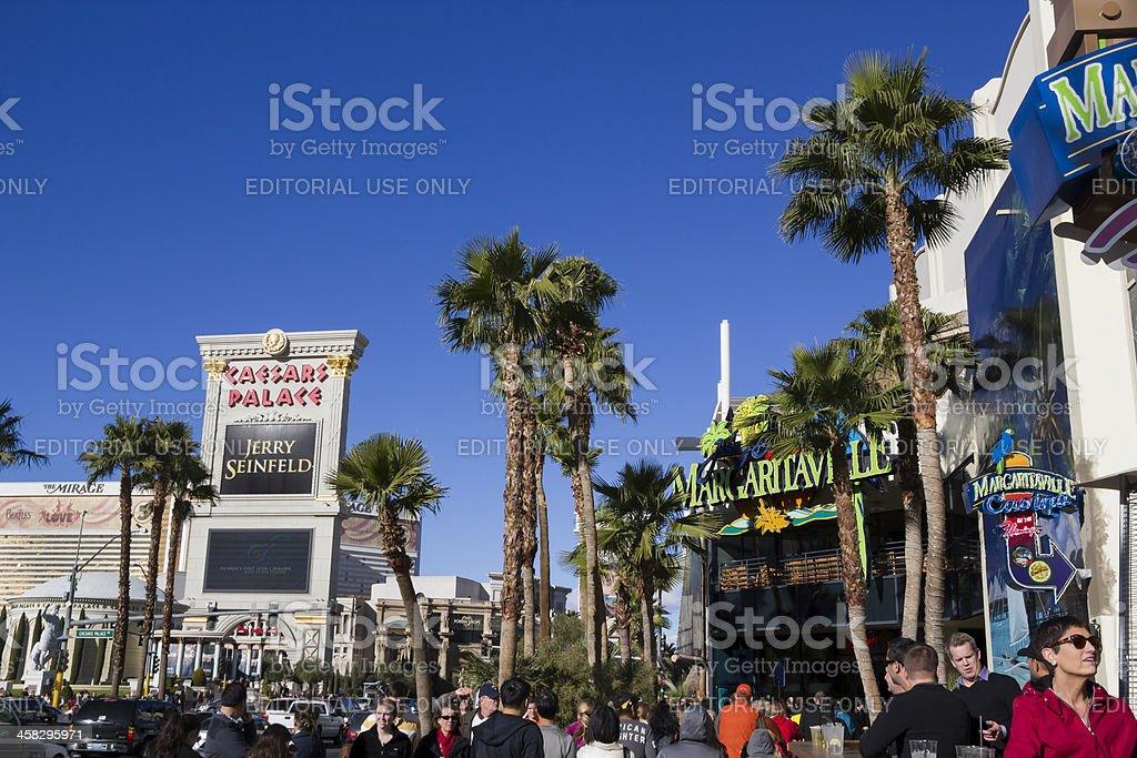 Las Vegas Caesar's Palace stock photo