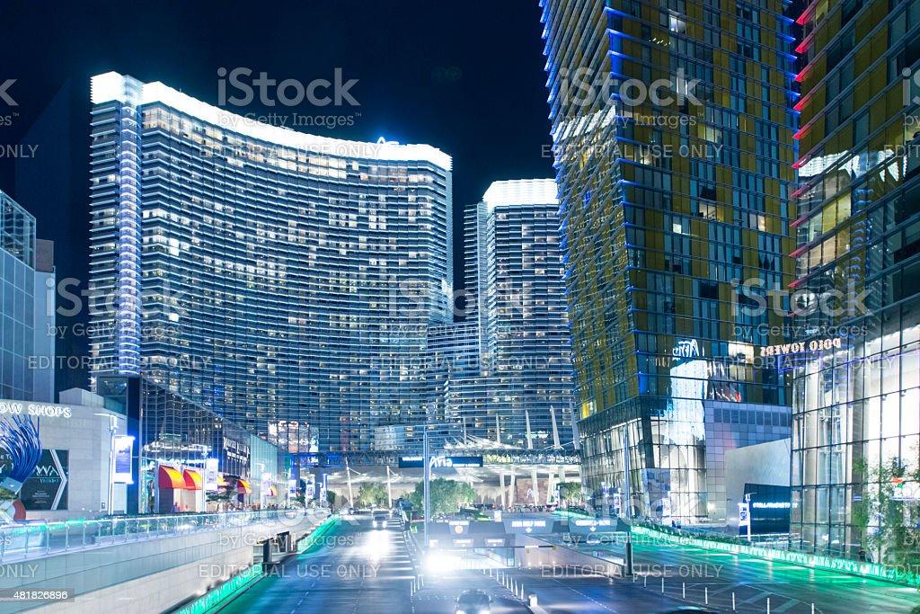 Las Vegas CityCenter stock photo