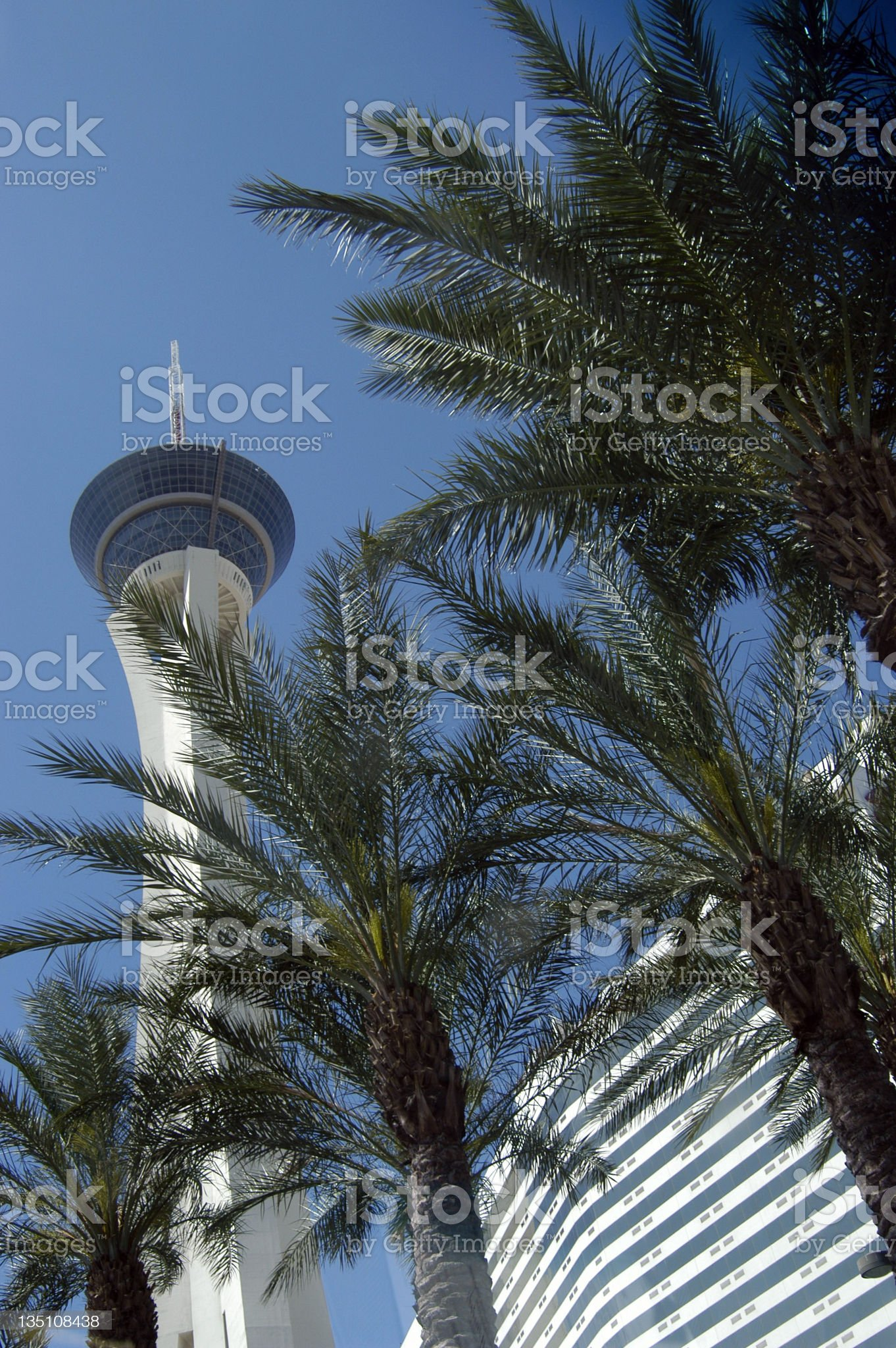 Las Vegas:  Hotel royalty-free stock photo