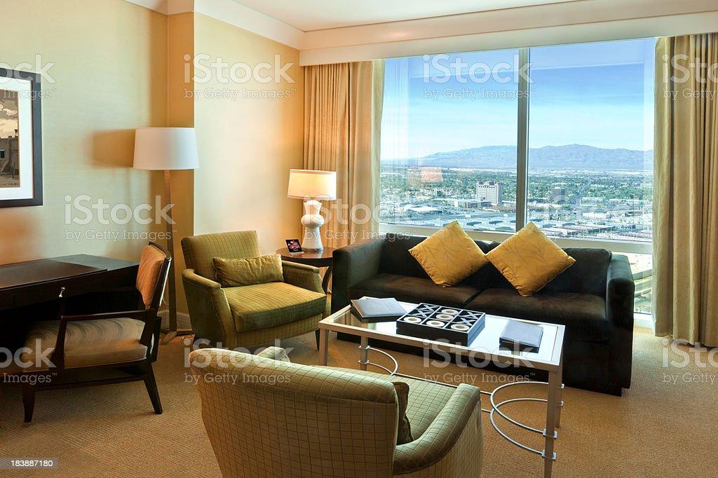 Las Vegas Hotel Room stock photo