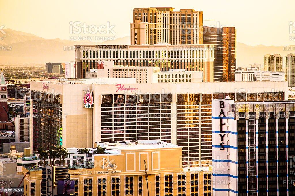 Las Vegas Hotels stock photo