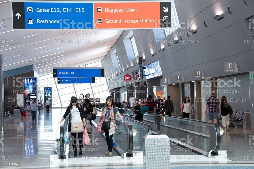 Las Vegas International Airport stock photo