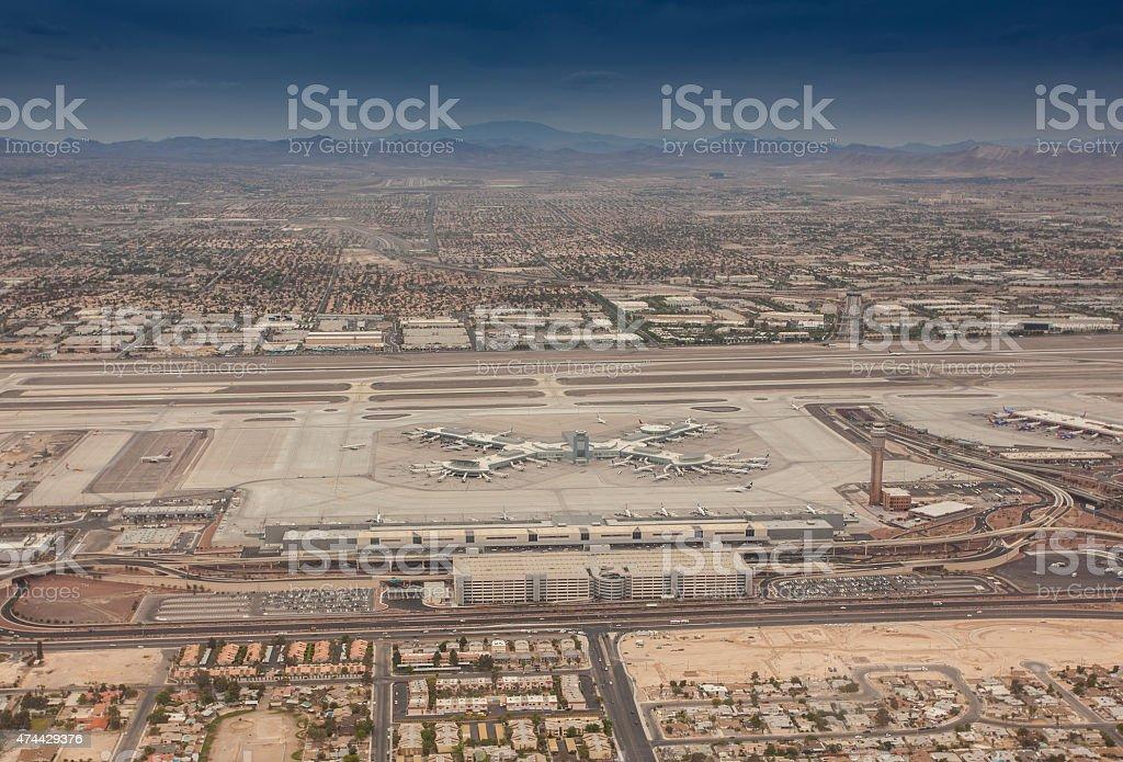 Las Vegas McCarran International Airport stock photo