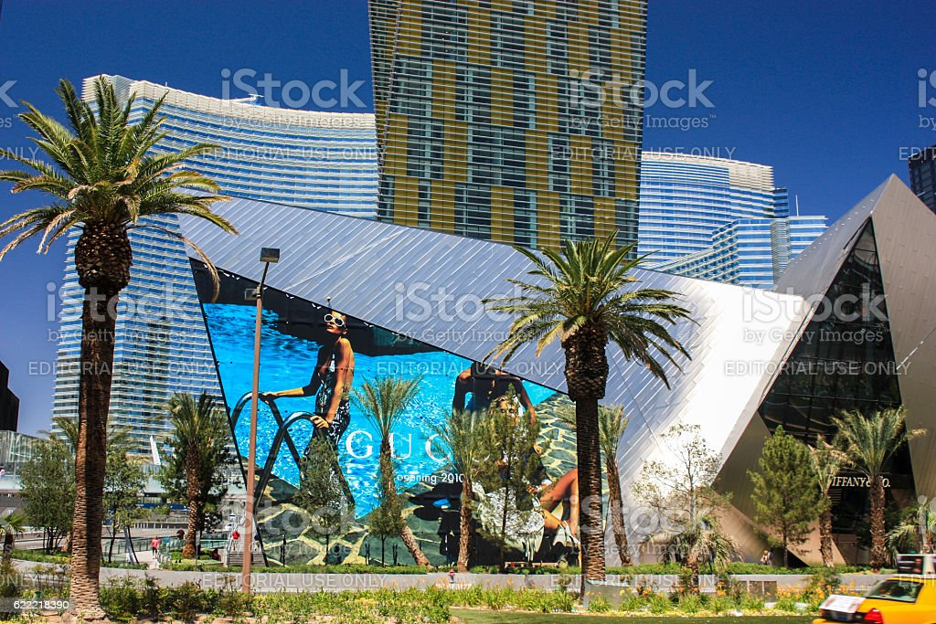 Las Vegas, Nevada - June 18 2010. Beautiful day view stock photo