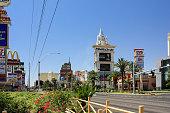 Las Vegas, Nevada - June 18 2010. Beautiful day view