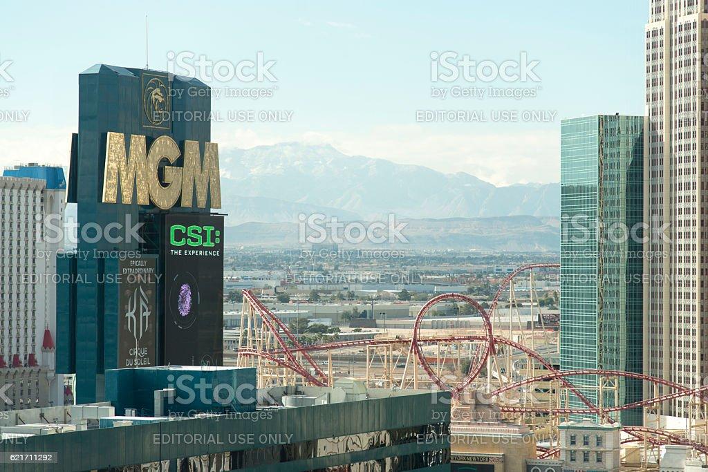 MGM Las Vegas stock photo