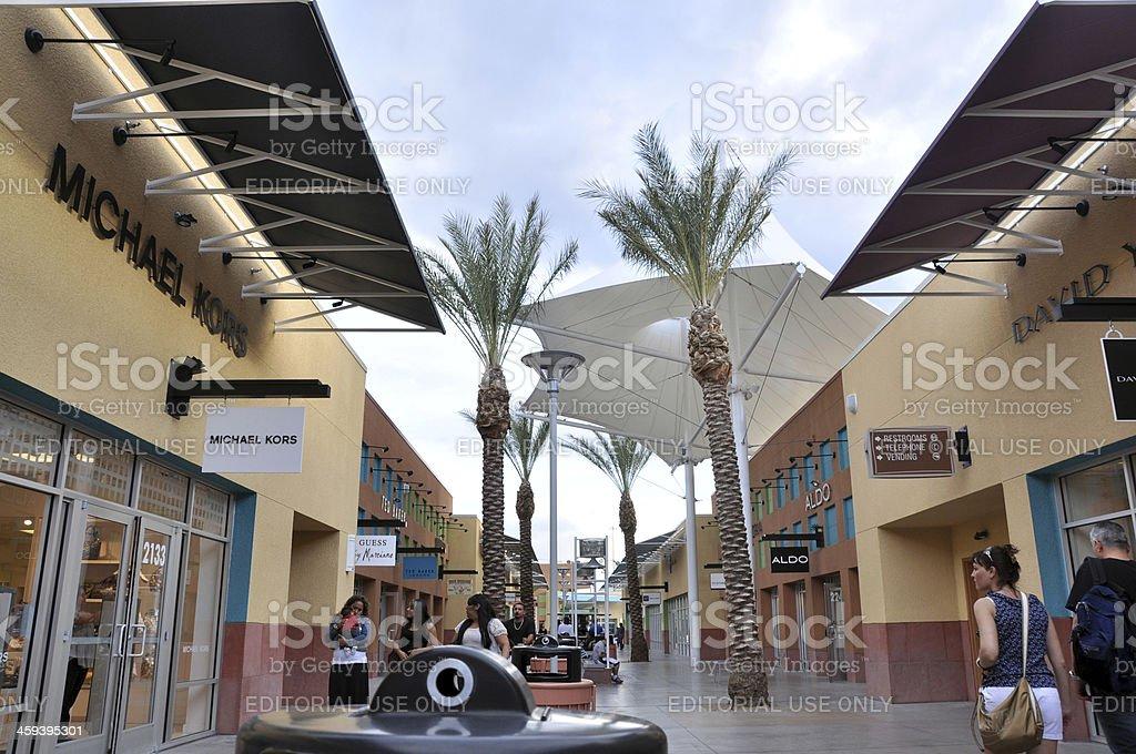 Las Vegas Premium Outlets - South stock photo