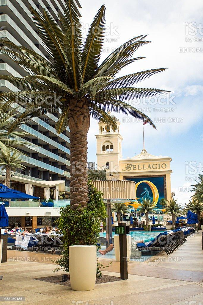 Las Vegas Resort View stock photo