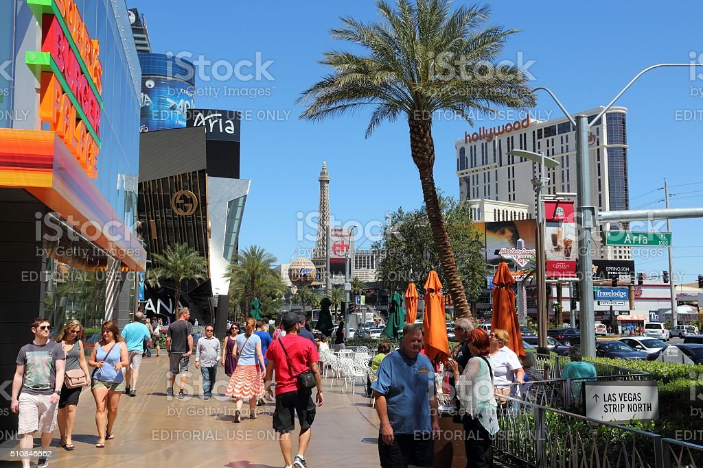Las Vegas shopping stock photo