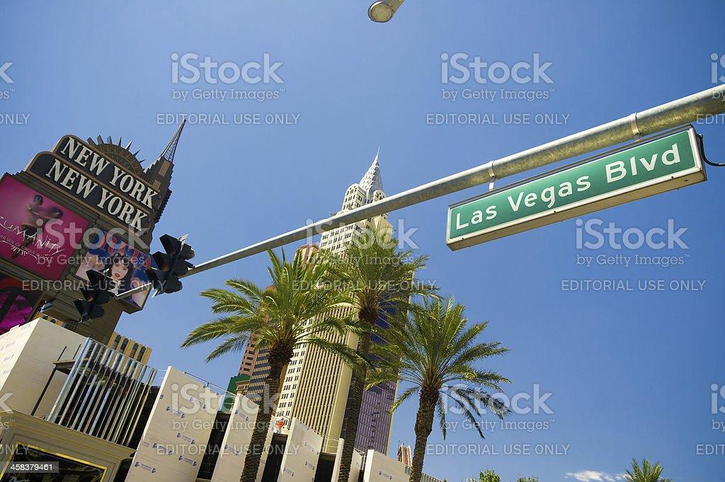 Las Vegas sign and Casino stock photo