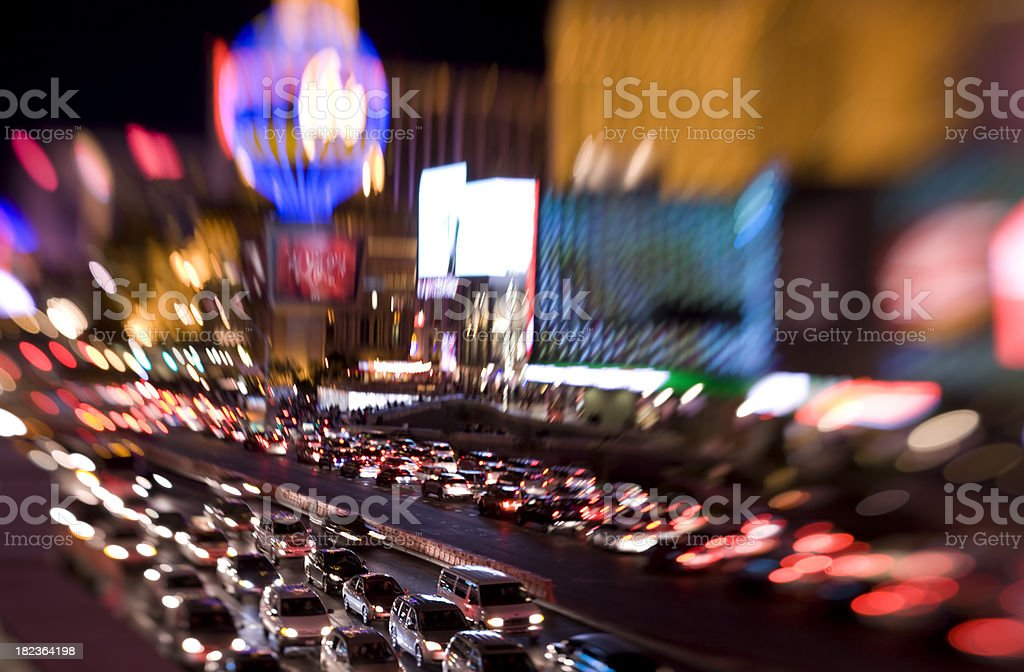 Las Vegas Strip royalty-free stock photo