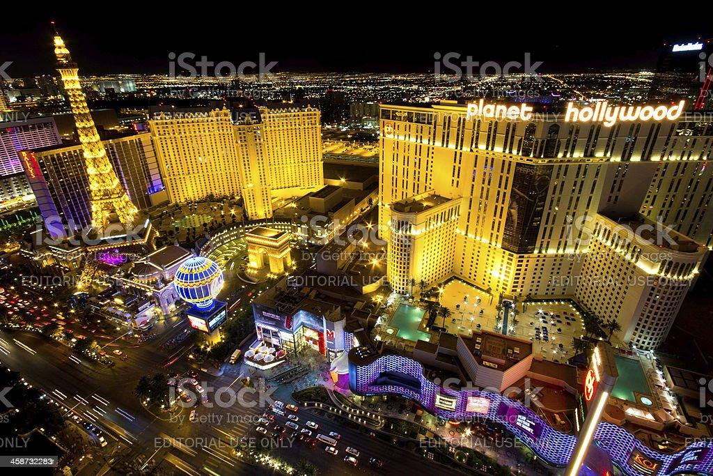 Las Vegas Strip royalty-free stock photo