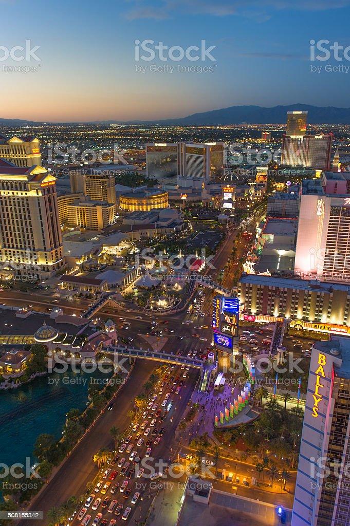 Las Vegas Strip stock photo
