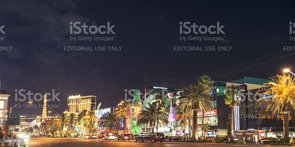 Las Vegas Strip urban scene royalty-free stock photo