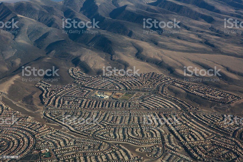 Las Vegas Suburbs stock photo