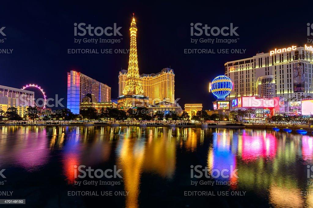 Las Vegas, USA - July 12 2014 stock photo
