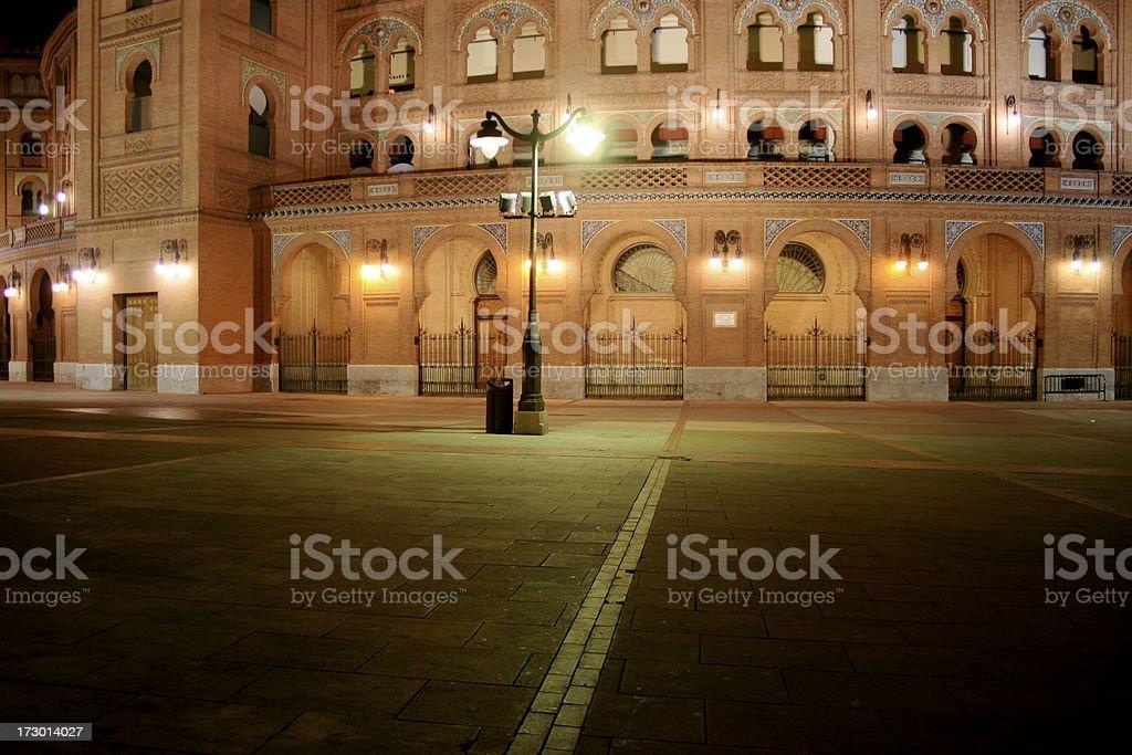 Las Ventas bullring stock photo