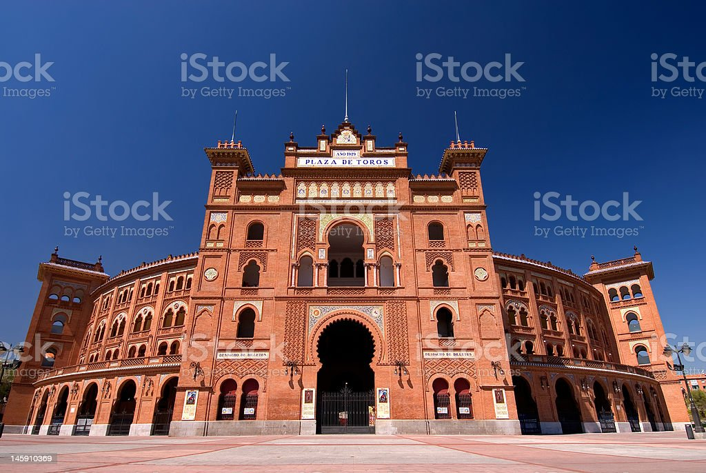 Las Ventas, Madrid. stock photo