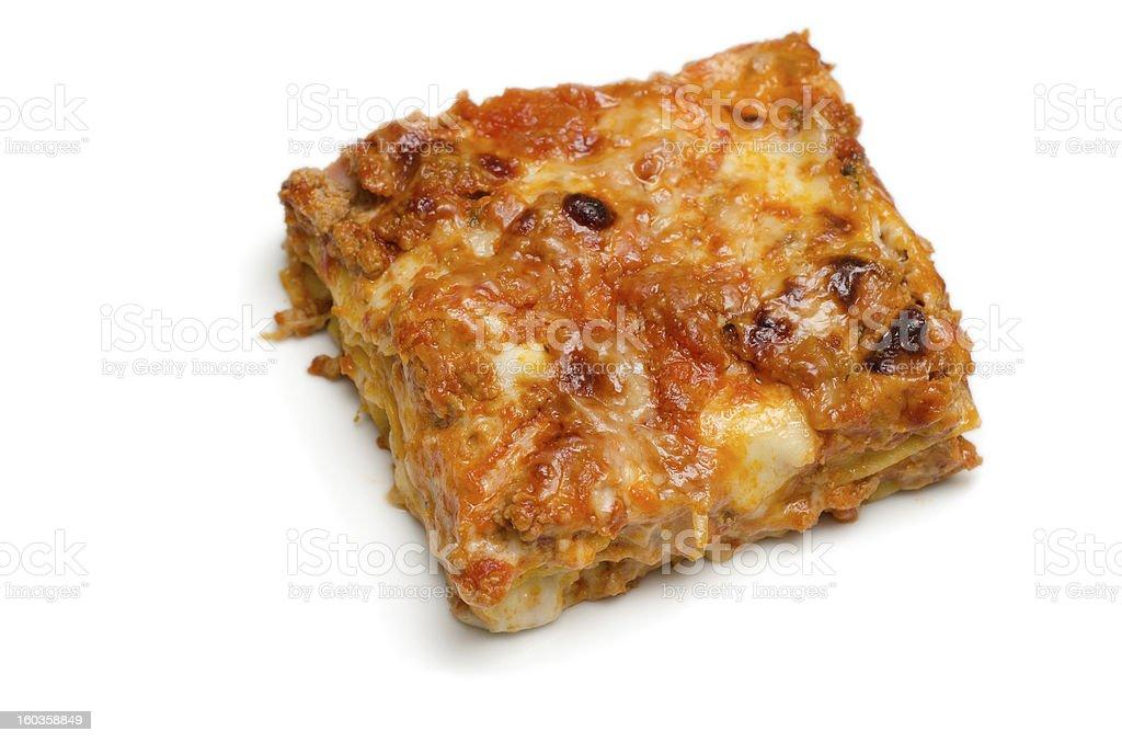 Lasagne al forno royalty-free stock photo