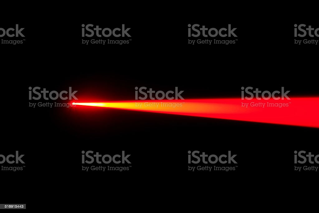 Laser Beam stock photo
