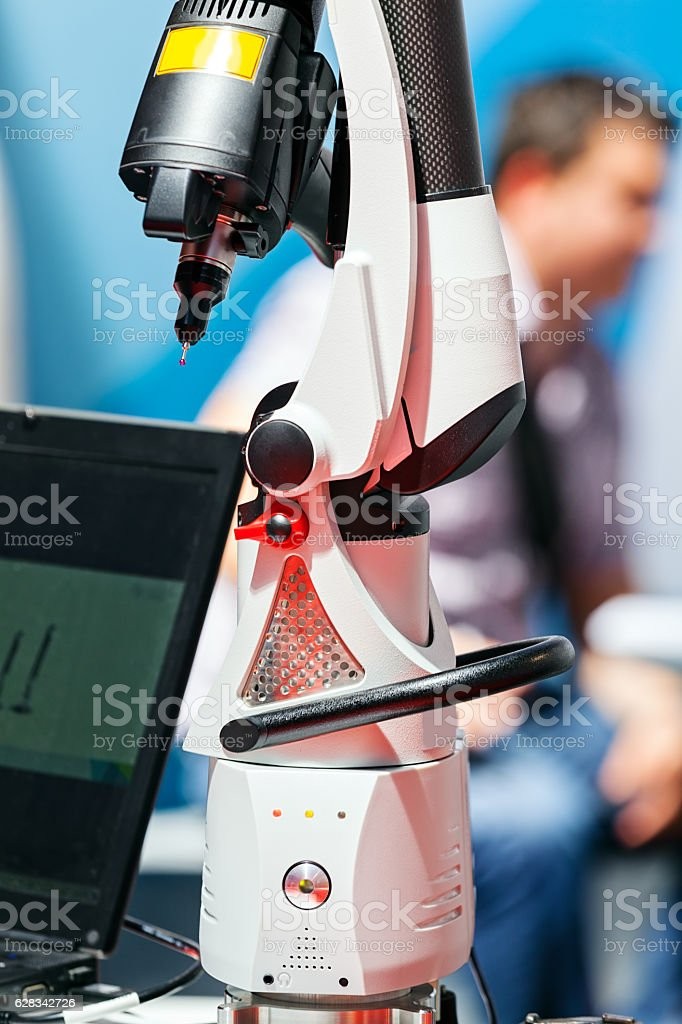 Laser for industry stock photo