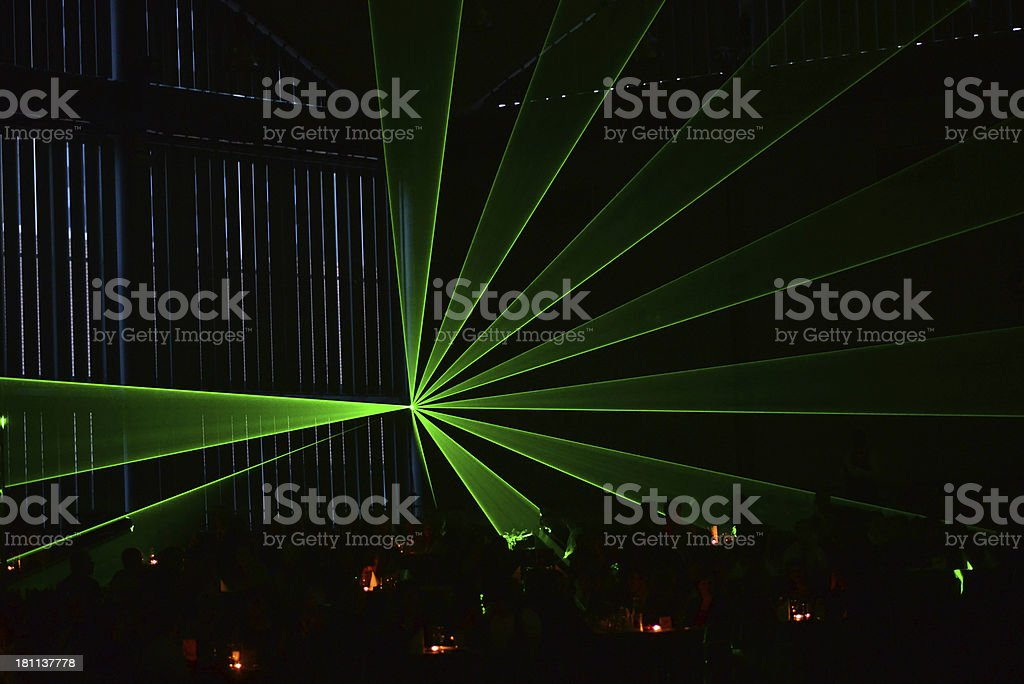 Laser light royalty-free stock photo