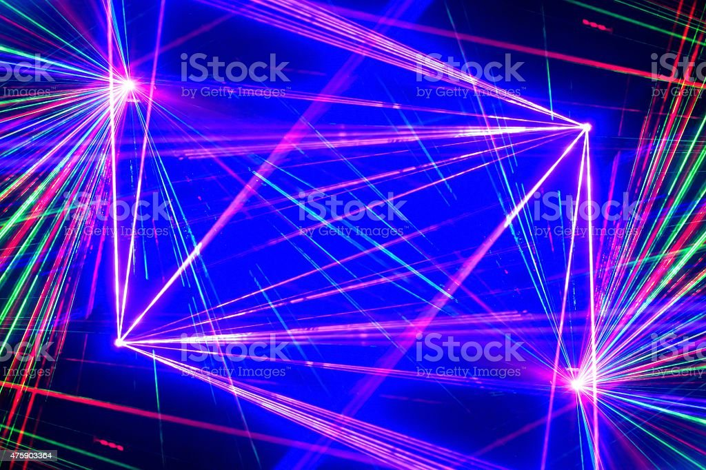 laser light stock photo