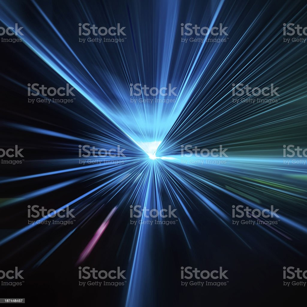 Laser lights stock photo