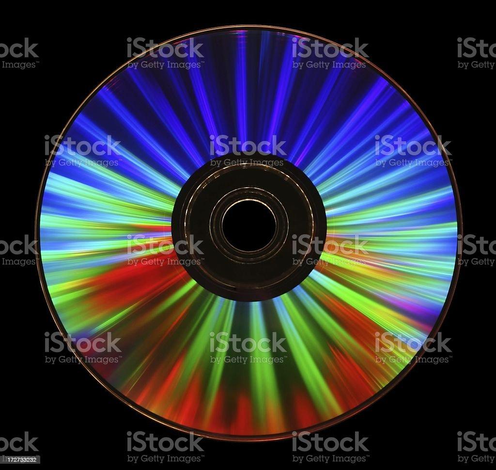 CD Laser Lightshow royalty-free stock photo
