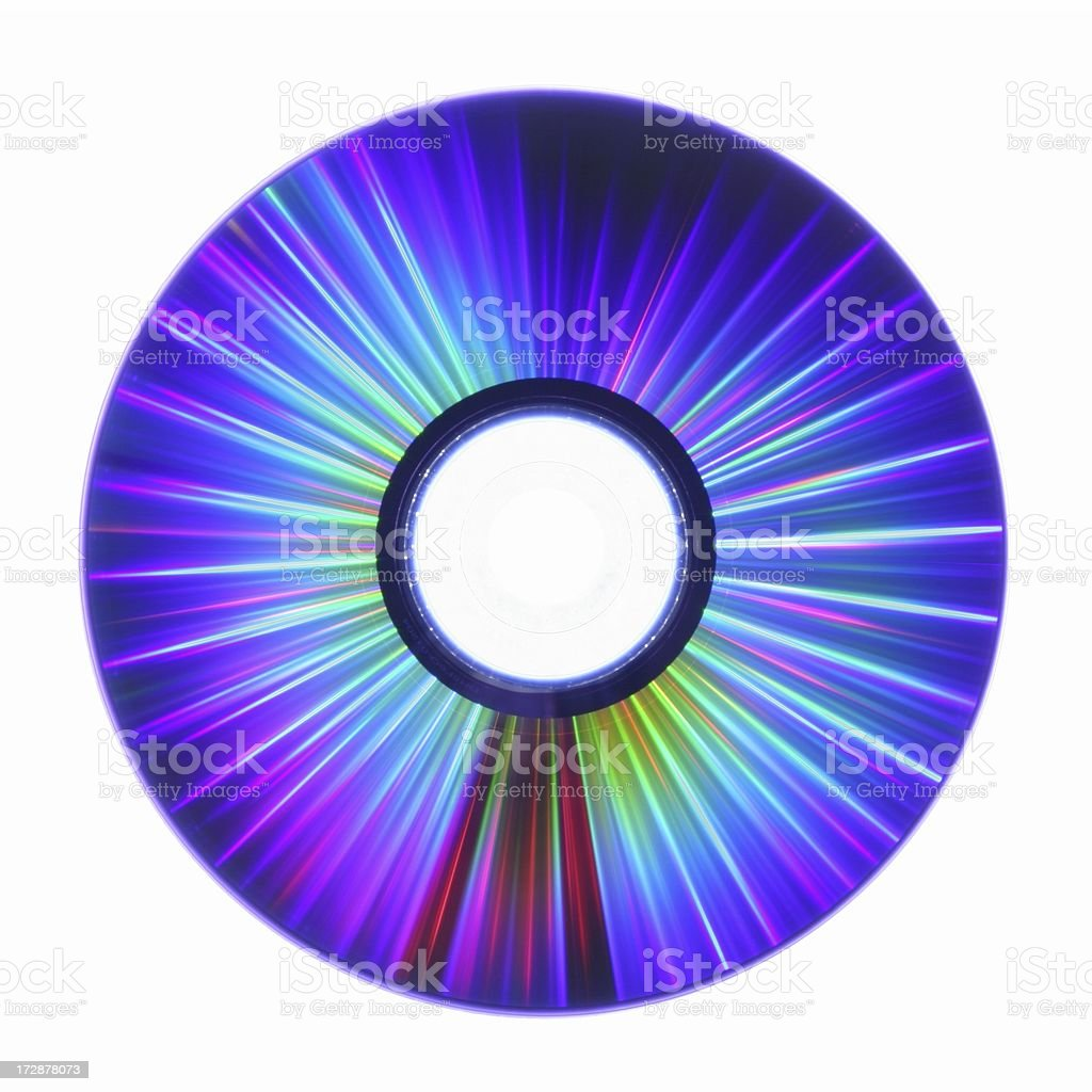 CD Laser Lightshow royalty-free stock photo