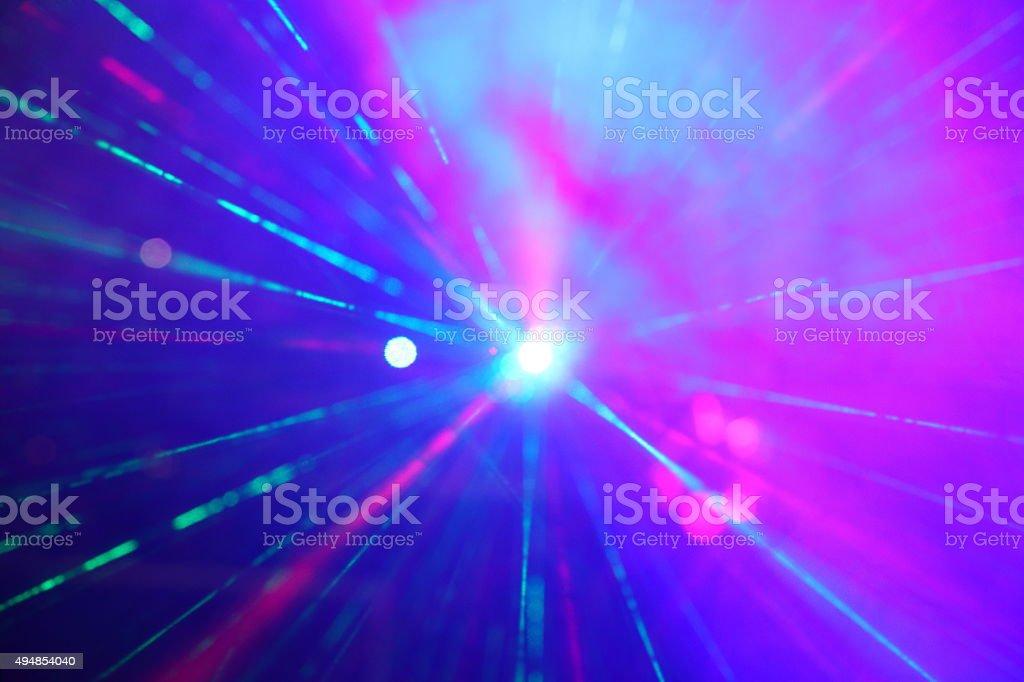 Laser rays stock photo