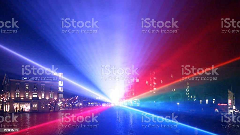 Lasershow Part4 royalty-free stock photo